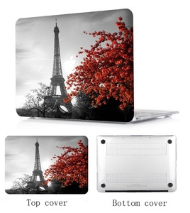 """Image 5 - ラップトップケースノートブックタブレットシェルキーボードカバーバッグパッド用 11 12 13 15 """"macbook proの網膜タッチバー空気A1466 A1369 t"""