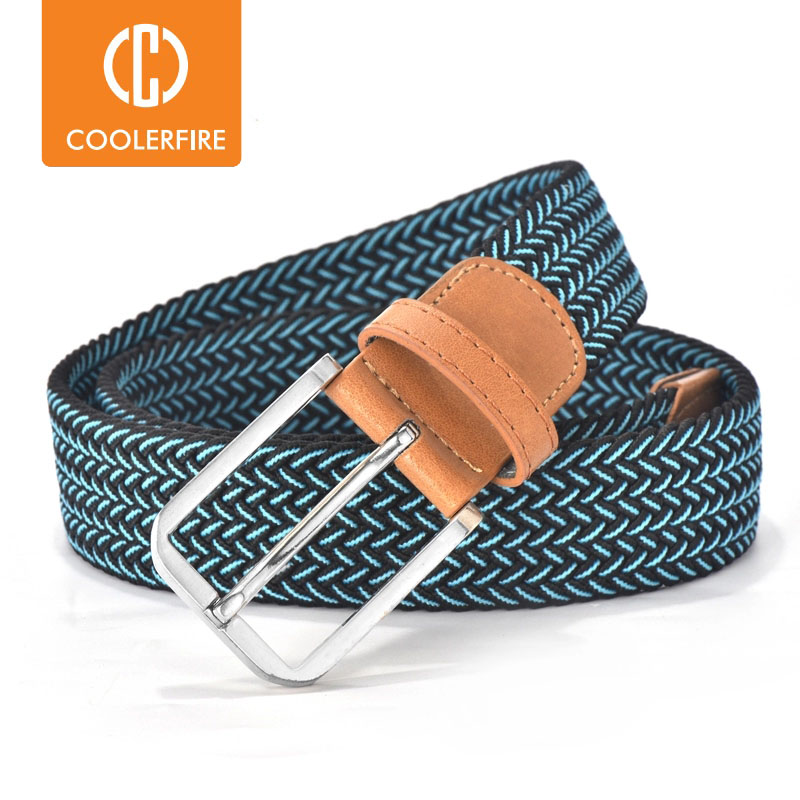 Men Women Casual Knitted Belt Woven Canvas Elastic Expandable Braided Stretch Belts Plain Webbing strap|braided belt for men|belt for menfashion belts for men - AliExpress