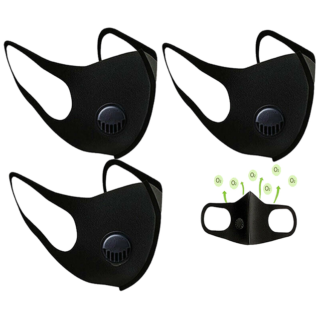 1/5/10/20/50 pcs Anti-fog Dust Filter Breathing Valve Face Mask Windproof Mask for Outdoor Motorcycle Riding 1