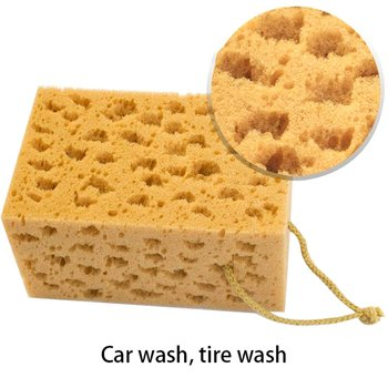 Alveolate Car Wash Sponge Car Wash Cleaning Scrubber Handy Multi Functional Washing Sponges Kitchen Highly Absorbent