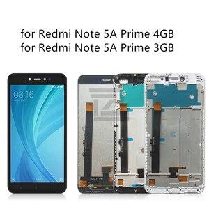 Image 3 - ل شاومي Redmi ملاحظة 5A lcd مجموعة المحولات الرقمية لشاشة تعمل بلمس مع الإطار ل Redmi ملاحظة 5A رئيس عرض 2/3/4 جيجابايت إصلاح أجزاء