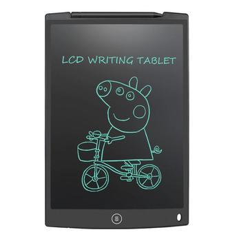 NEWYES 12 #8222 tablet lcd do pisania cyfrowy tablet do rysowania podkładki do pisania ręcznego przenośny elektroniczny tablet tablica ultra-cienka tablica z piórem tanie i dobre opinie writing Graficzny Tabletki 1016lpi 1920x1080 15 8cm 12 inch writing tablet Cyfrowy tabletki 28cm Digital Tablets 4 8mm 191g 0 42LB