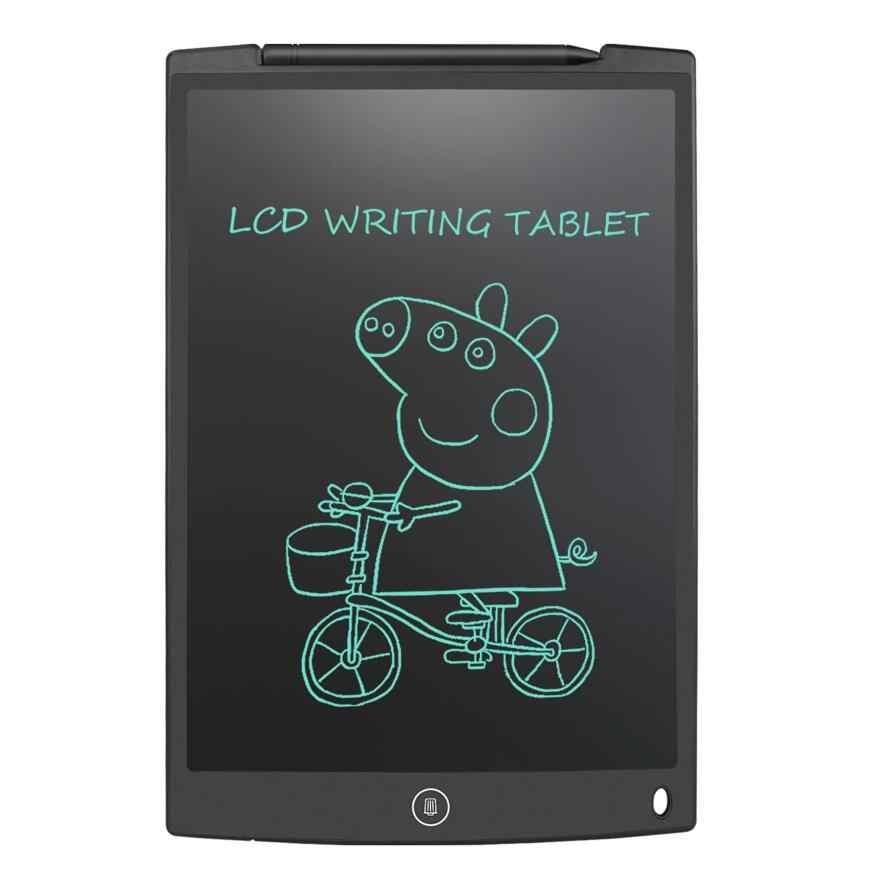 "NEWYES 12 ""كمبيوتر لوحي LCD بشاشة للكتابة لوح رسم رقمي بخط اليد منصات المحمولة الإلكترونية اللوحي مجلس رقيقة جدا مع القلم"