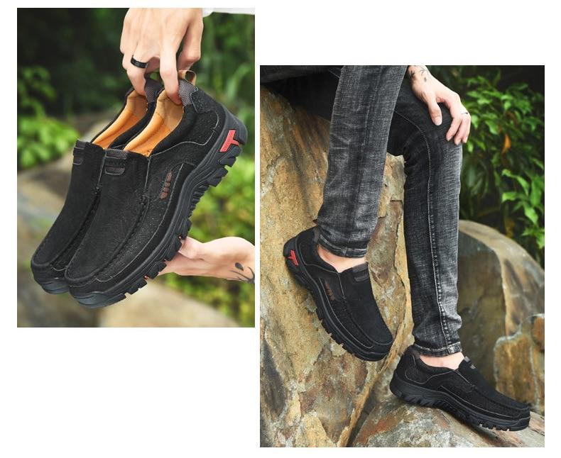 H56da22fc7a3942838732a9d0fc2092406 Men Casual Shoes Sneakers 2019 New High Quality Vintage 100% Genuine Leather Shoes Men Cow Leather Flats Leather Shoes Men