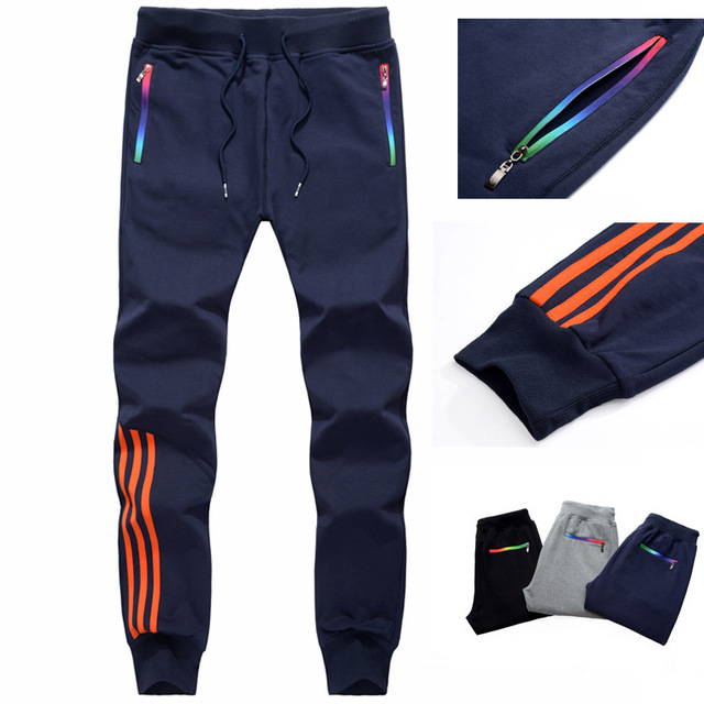 LBL Men Pants Striped Jogger Autumn Casual Mens Sweatpants Sportswear Long Trousers New Straight Pants Man Fitness Clothing 5XL 16