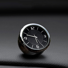 цена на Car Clock Vehicle Luminous Round Quartz Clock Watch Dashboard Air Outlet Decor For BMW 1 2 3 5 7 Series M3 M4 M5 X1 X3 X4 X5 X6