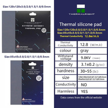Thermalright ODYSSEY Heat Dissipation Silicone Pad CPU/GPU Graphics Card Thermal Pad Motherboard Silicone Grease Pad Multi-Size