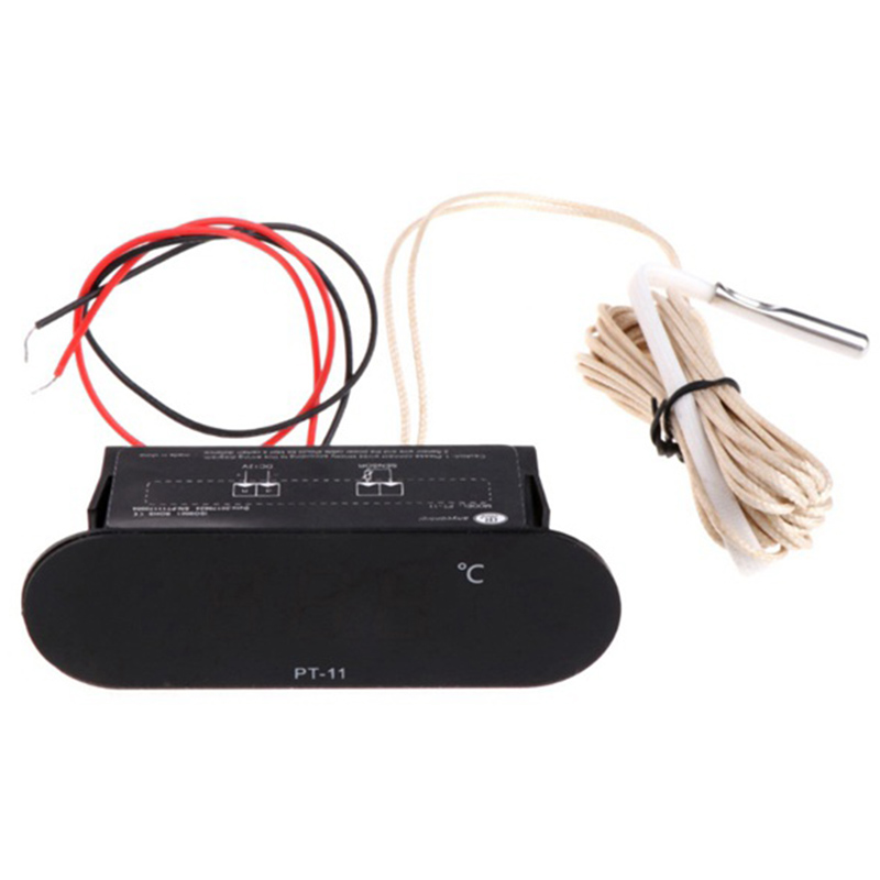 -20-300 Centigrade PT-11 Digital Thermometer Temperature Meter Indicator With 2M NTC Sensor W315 90-250V