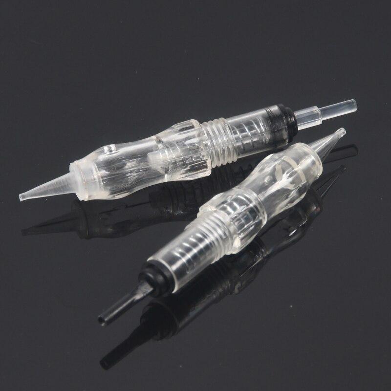 100pcs/pack Revolution Tattoo Needle Cartridge Permanent Makeup Cartridge Needle For Black Pearl Machine 1RL 3RL 5RL