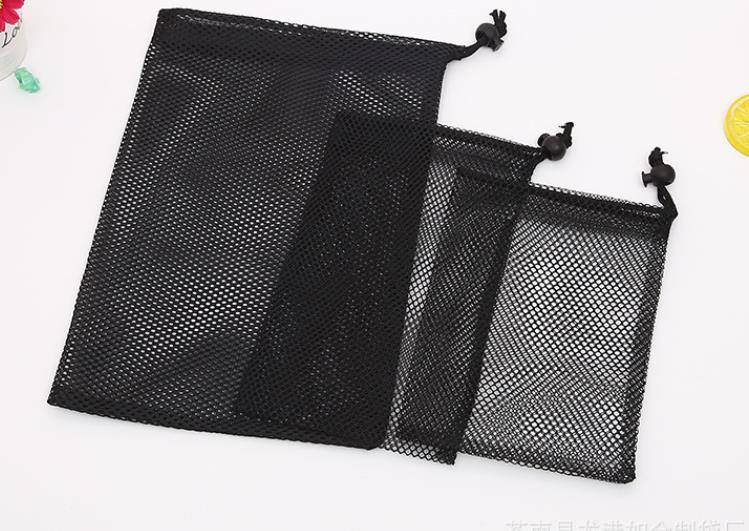 Черная сетка для хранения сумка хозяйственная сумка для гольфа Fascicular отверстия сетчатый мешок нескольких спецификациях может быть повторн...