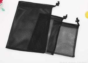 Черная сетчатая сумка для хранения, сумка для гольфа, модная Сетчатая Сумка в нескольких спецификациях, можно использовать повторно