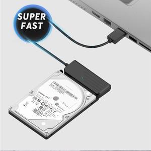 Image 4 - محول HDD من usb 3.0 إلى كابل محول من النوع C إلى SATA3 ، 2.5 بوصة SATA ، قرص صلب SSD ، 5 جيجابت في الثانية ، JMS578
