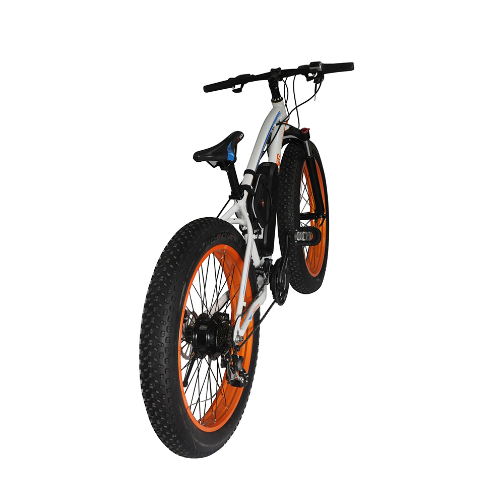 EcoRider E6-5 E6-5 48v 26inch 2 wheel Electric bicycle Big Fat Tire Snow E bike Off Road Bicycle ( Sample Free Postage) 2
