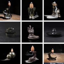 9 стилей креативный керамический держатель для благовоний портативная курильница с обратным потоком ароматический аромат благовония r горелка