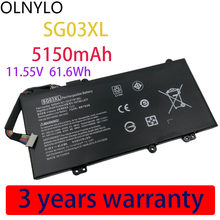 Véritable SG03XL Batterie pour Hp Envy 17-U273CL 17-U011NR 17-U108CA 17-U110NR 17-U163CL W7D93UA W2K88UA W2K86UA 11.55V 5150mAh