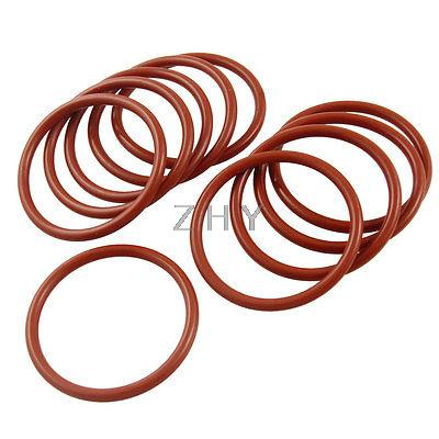 Silicone O-rings 35 x 1.5mm Price for 10 pcs Business & Industrial ...