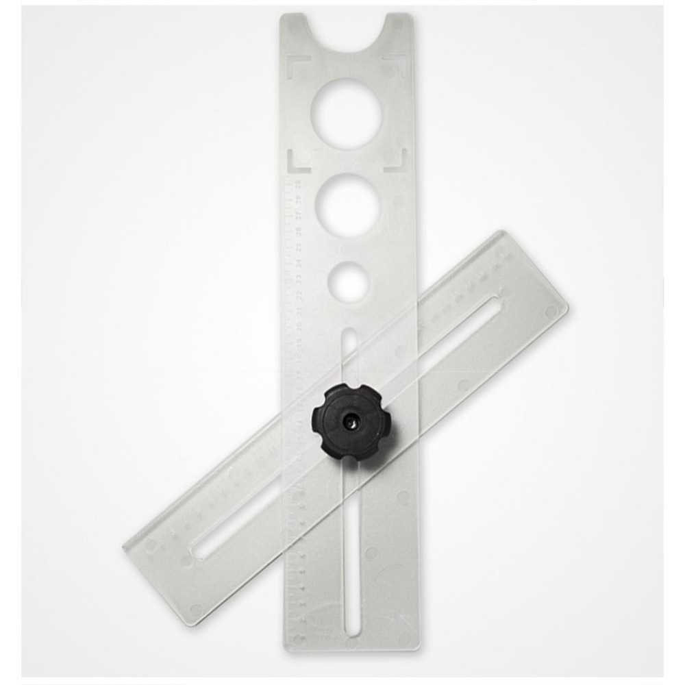 Tile Punch Punching Fixator Positioner Chamfering Device Orifice Locator Universal Multifunctional Tile Opening Locator