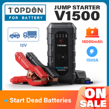 Car-Charger Battery-Power-Bank Starting-Device Jumpstarter Buster Emergency-Booster Topdon
