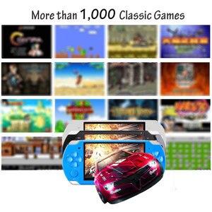 Image 3 - Elde kullanılır oyun konsolu 4.3 inç ekran mp4 çalar MP5 oyun oyuncu gerçek 8GB desteği 8Bit 16bit 32bit oyunları, kamera, video, e kitap