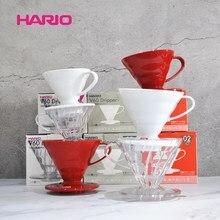 Japan Hario filter tasse Hario V60 harz tropf filter tasse hand punch kaffee punsch tasse VD-01/02 kaffee werkzeug