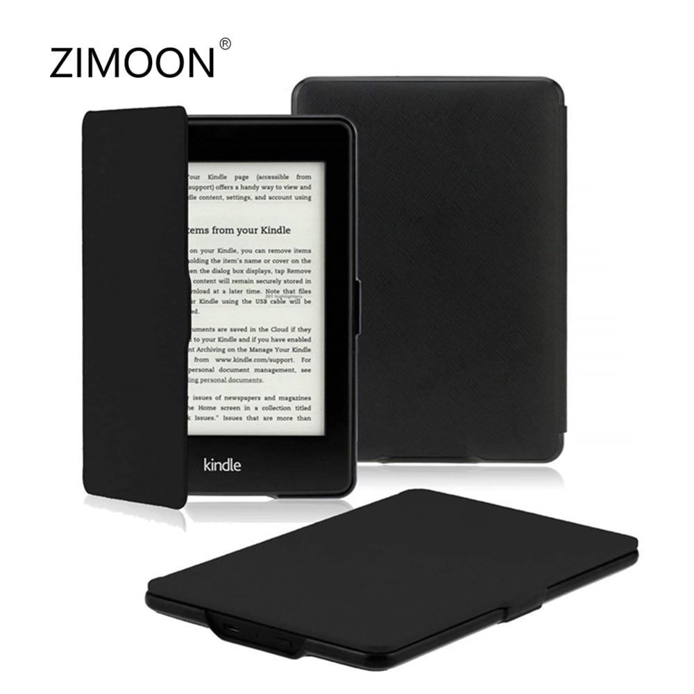 Чехол для Amazon Kindle Paperwhite 2 3 тонкий легкий PU кожаный смарт-чехол для Paperwhite DP75SDI поколения до 2018