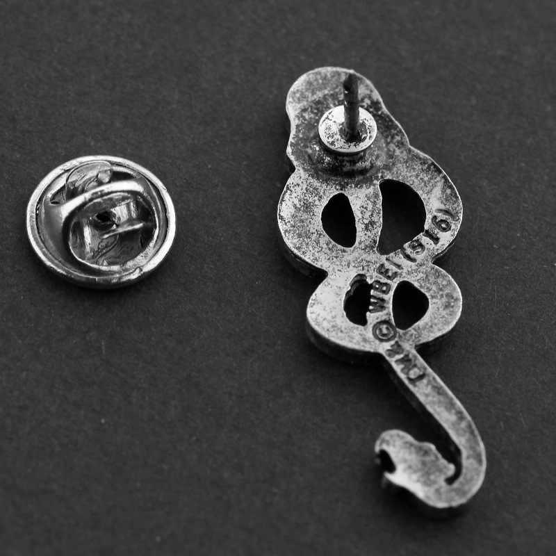 Harry bijoux rétro Cool mangeurs de mort serpent logo broches pour hommes garçon Fans Collection