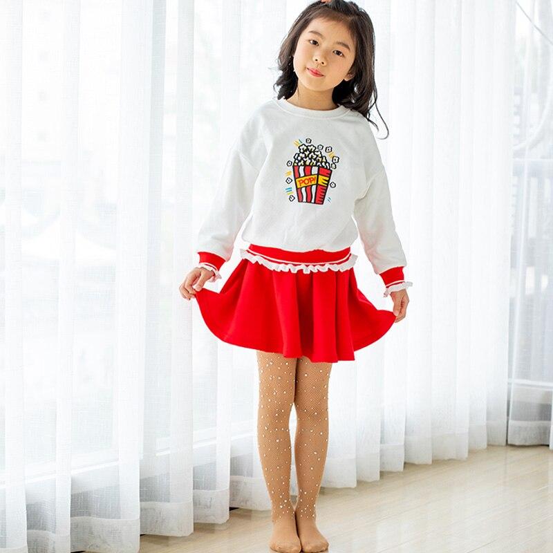 Children Tights Rhinestone Mesh Pantyhose Stockings Net Pattern Thin Pantyhose Summer Baby Tights for Girls Kids 6