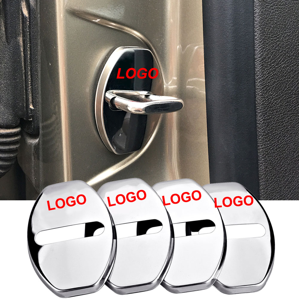 4-100 pcs For S Badge Car Door Lock Protector Cover Logo Cap For Audi Sline A4 A6L A8L Q5 Q7 TTS B8 C6 C7 C5 S8 RS5 Accessories enlarge