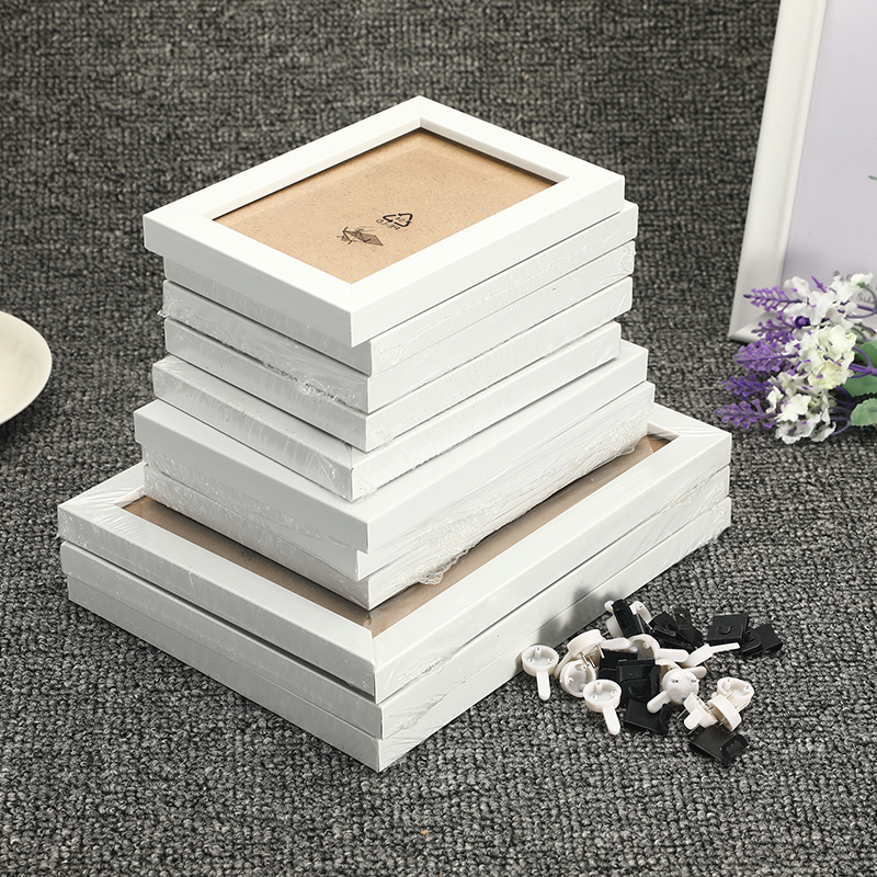Picture-Frames Wall-Decoration Bedroom Wood Living-Room Family Hallway 11pcs/Set