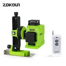 ZOKOUN 12 lignes 3d auto nivelant lignes vertes niveau laser précis Horizontal et Vertical croix outils de construction professionnels