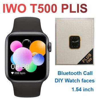 2021 Newest IWO 13 T500 Plus Smart Watch Men Women Fitness Tracker Bluetooth Call Sport Smartwatch PK IWO 12 W46 W26 HW22 AK76 1