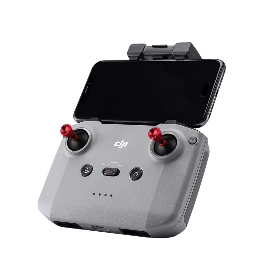 Remote Control Mount Mobile Phone Sun Hood Sunshade with Aluminium Joystick for DJI Mavic Air 2 Drone Accessories