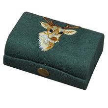 Ручная вышивка коробка Портативный Макияж Губная помада для