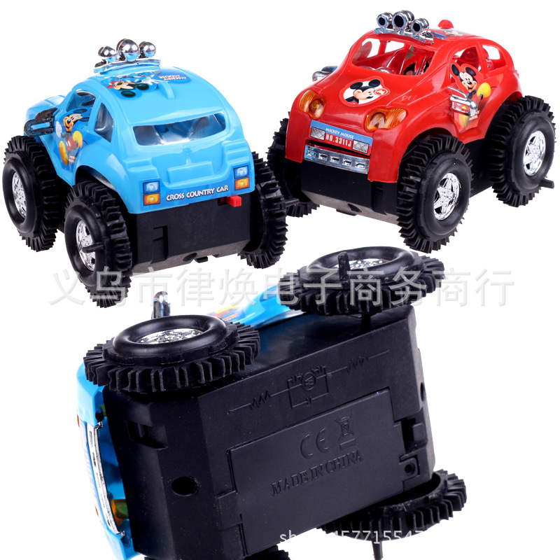 Electric Mickey Dump Truck Electric Mini Dumpers Mickey Che Wandering Peddler CHILDREN'S Toy Stall