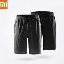 Xiaomi ULEEMARK мужские крутые спортивные шорты для кожи дышащие удобные шелковистые повседневные короткие штаны спортивные штаны для фитнеса и бега