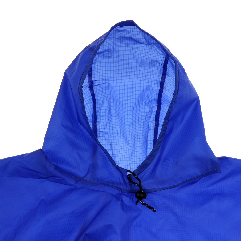 Multiuse Rain Poncho Outdoor Camping Blanket Emergency Backpack Rain Cover