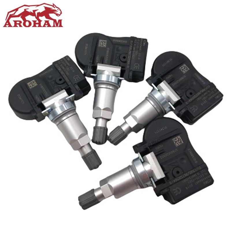 4 Pcs TPMS Sensor 31341893 31341171 313418930 Tire Pressure Sensor For Volvo C30 C70 S40 S60 S70 S80 V40 V50 V60 XC60 XC70 XC90