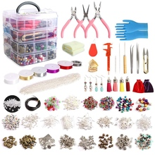 Jewelry-Making-Kit Bracelet Necklace Beads Repairing with for And 1960pcs/Set