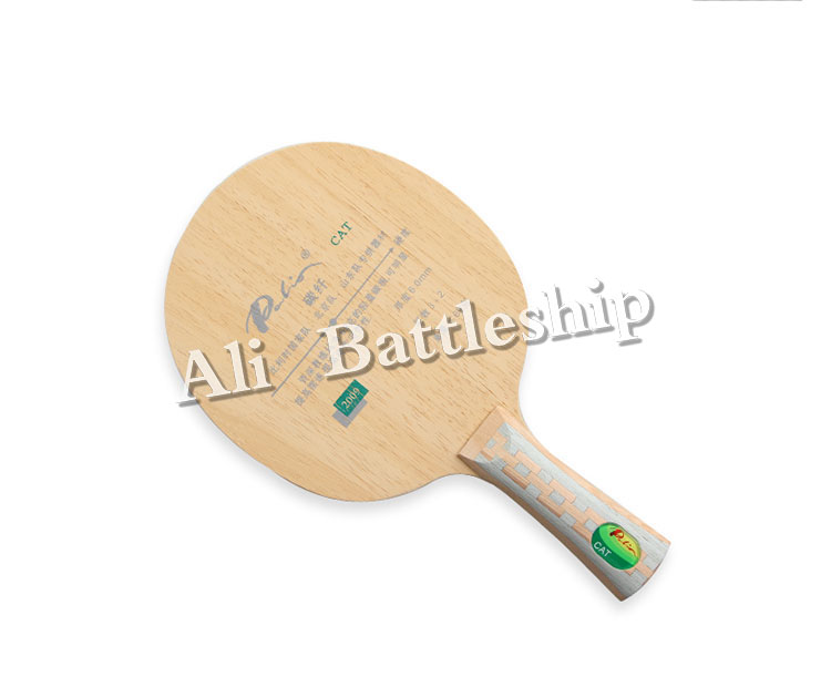 Palio CAT Table Tennis Blade 3wood+2carbon Best Light Blade Table Tennis Racket Racquet Sports