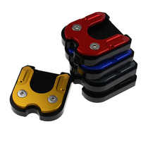 Для MOTO GUZZI 1200 STELVIO 8V NTX 2011-2014 ЧПУ Заготовка подножка опорная пластина боковая подставка удлинитель увеличение