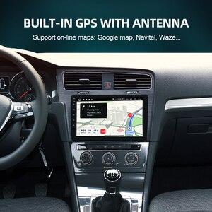 Image 3 - ISUDAR راديو السيارة VW/Volkswagen/Golf 7 ، مستقبل الشاشة ، V57S ، Android ، IPS ، GPS ، CANBUS ، DVR ، كاميرا No 2 Din