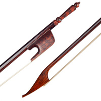 Exquisite Snakewood 4/4 Size Violin Bow Brown 74.5cm/29.33inch Musical Instrument Accessory
