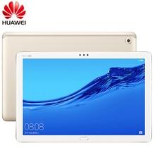 Küresel ROM 10.1 inç HUAWEI MediaPad M5 Lite 4G LTE telefon görüşmesi Android 8.0 Octa çekirdek 4GB RAM 64GB/128GB ROM tip c tablet PC