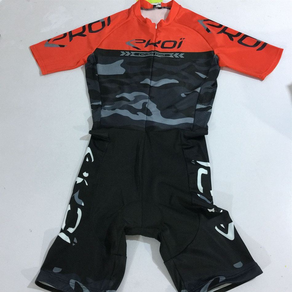 Pro Triathlon mono ciclismo hombre custom clothes Sportswear riding apparel Skinsuit ropa maillot ciclicmo speedsuit trisuit in Cycling Sets from Sports Entertainment