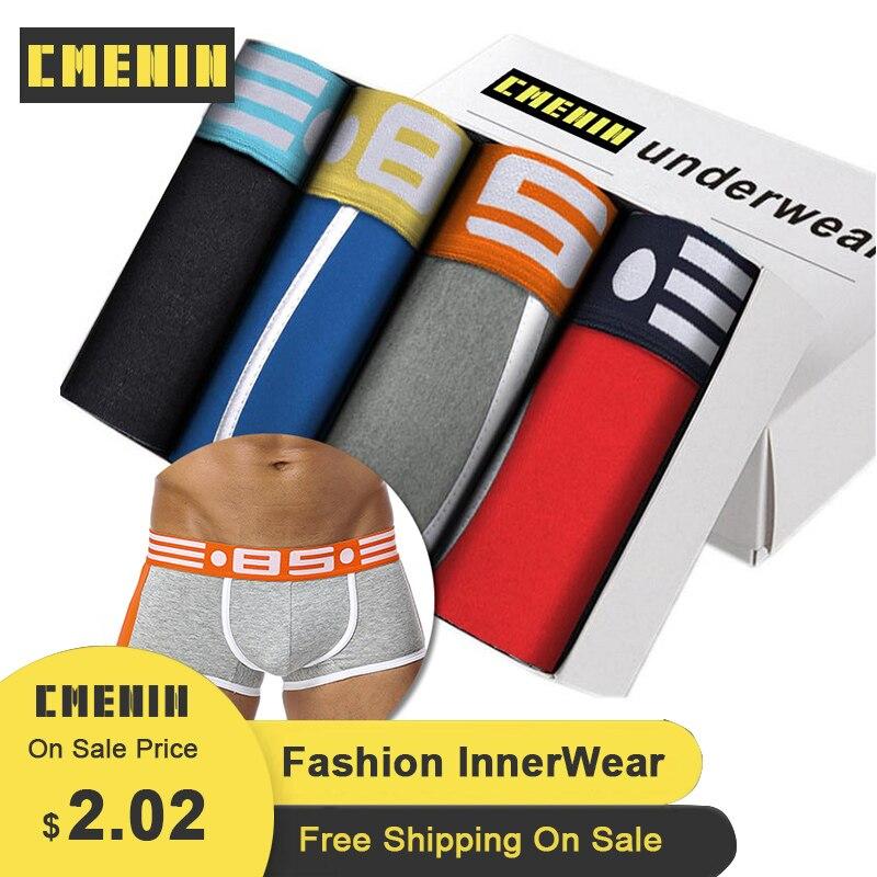 Men/'s Underwear Underpants Boxer Cotton Shorts Brief U Convex Pouch BS39