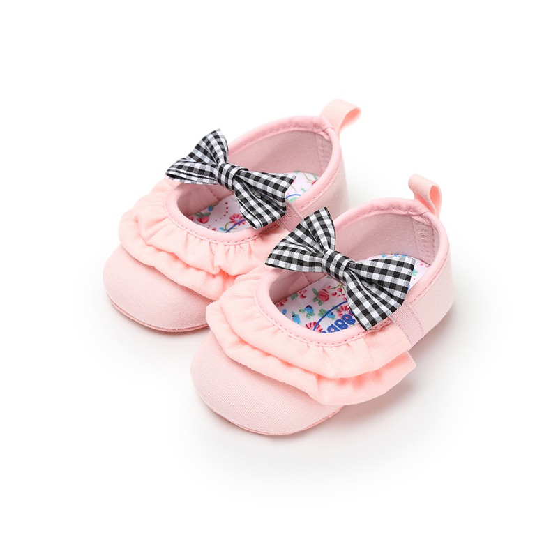 New Style Ballet Dress Shoes Baby Toddler First Walkers Crib Shoes Infant Newborn  Lace Girls Princess Prewalkers Sx1