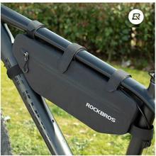 ROCKBROS Cycling Bicycle Bags Top Tube Front Frame Bag Waterproof MTB Road Triangle Pannier Dirt-resistant Bike Accessories Bags цены