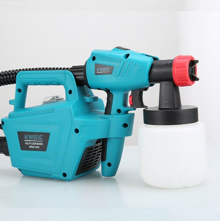 800W Power High Pressure Airless Sprayer Paint Only Spray Gun Paint Latex Paint Spraying Machine Airless Spray Gun