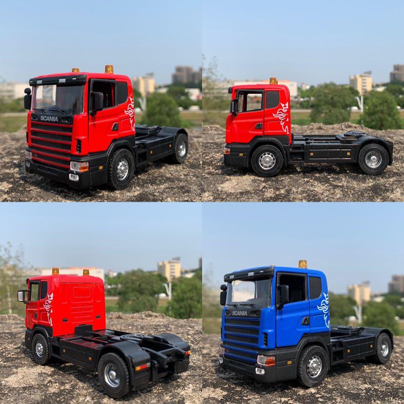 1:43 Alloy Model Car For Scania Truck  14cm In Length