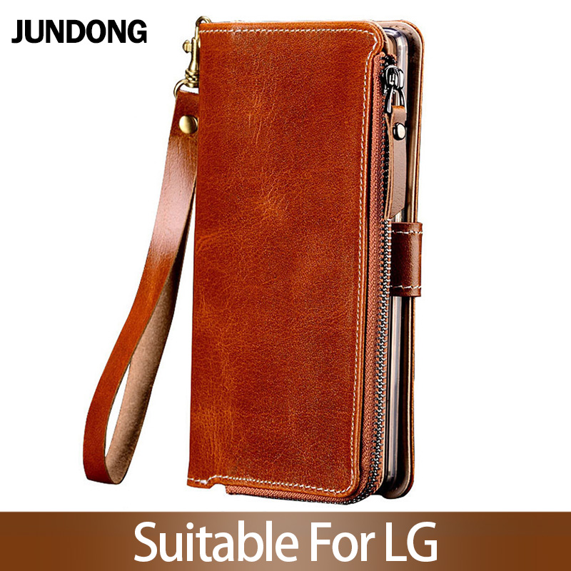 for LG V30 V40 V50 ThinQ G6 G7 Q6 Q7 K11 K4 K8 K10 2018 Srylor 3 4 Case Multifunction Wallet Phone Bag High quality Purse